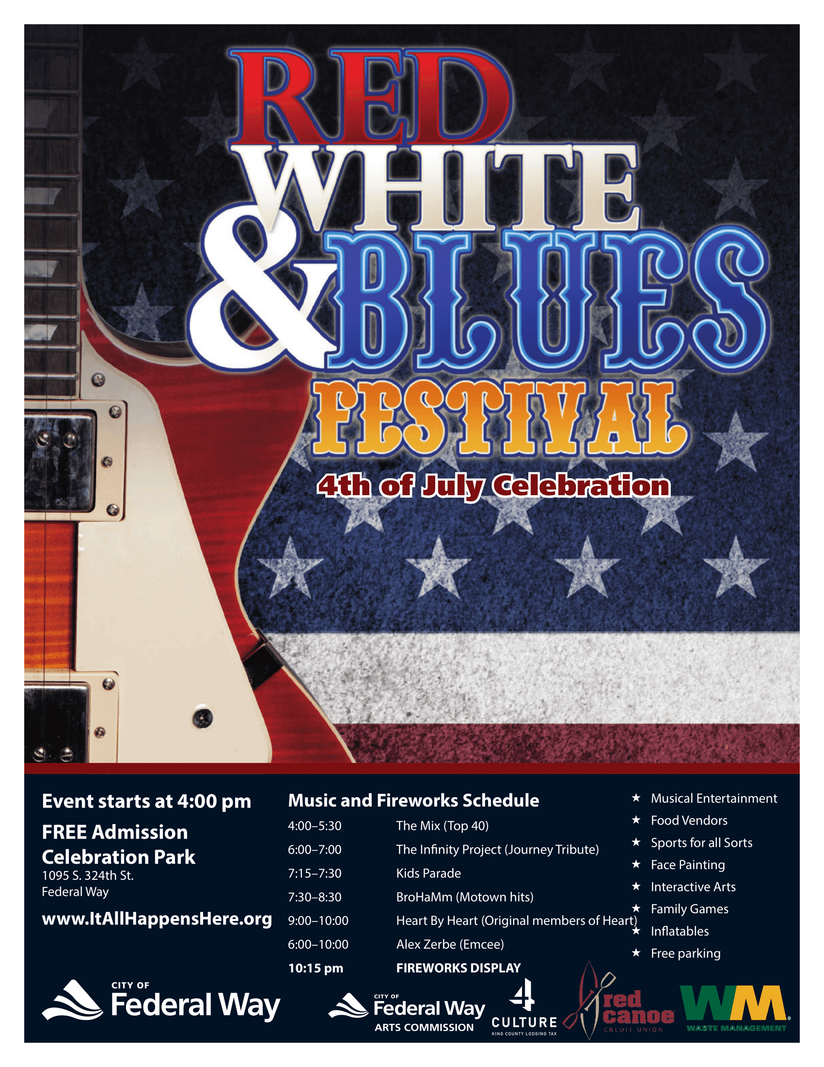Federal Way Red, White & Blues Festival