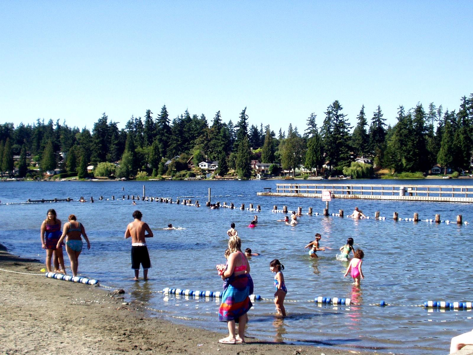 Steel Lake Park : Steel lake park family funland federal way tourism