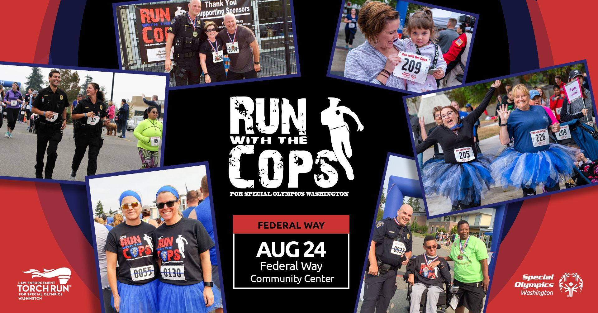 Run With The Cops 5k Run/Walk in Federal Way | Federal Way